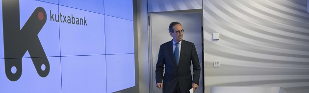 Kutxabank eleva su beneficio un 16,5% en el primer trimestre
