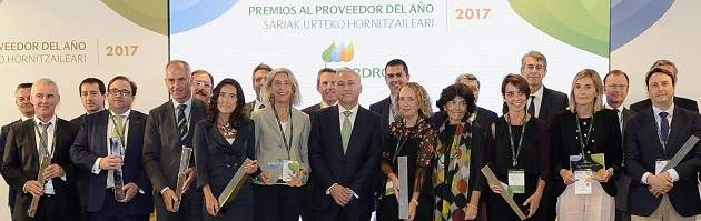 Iberdrola designa al grupo Arteche como su Mejor Proveedor del Año de 2017