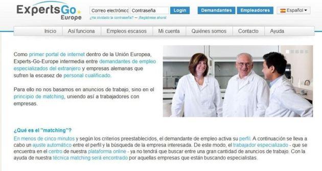 Un nuevo portal ayuda a los espa oles a encontrar trabajo for Portal empleo madrid