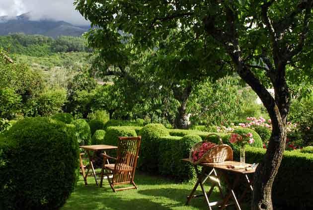 El jard n del convento primavera en herv s for Jardin del convento