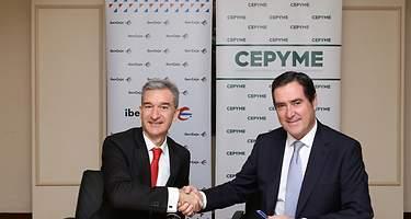Ibercaja y Cepyme se unen para apoyar a pymes y autónomos