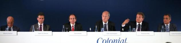 Colonial prevé invertir 300 millones en 2015 con el foco puesto en compras en España