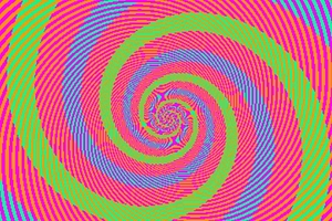 ¿Cuántos colores ve en la ilusión?
