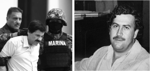 Pablo Escobar vs El Chapo Guzman. Quien fue más capo narco?