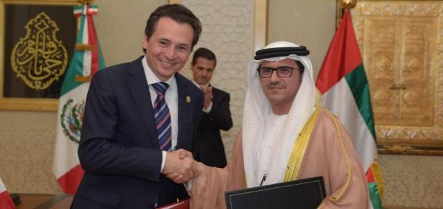 Emilio Lozoya y Musabbeh Al Kaabi