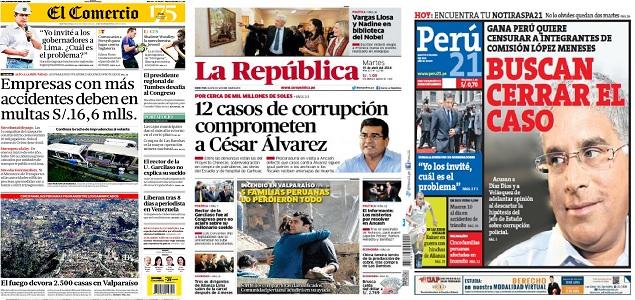 revista de prensa del per gana per tiene intenciones de On noticias del espectaculo hoy argentina