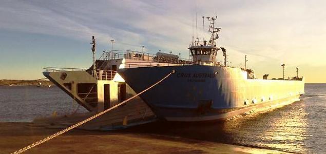 Crux Australis: la nave que aportará a la conectividad de Chile