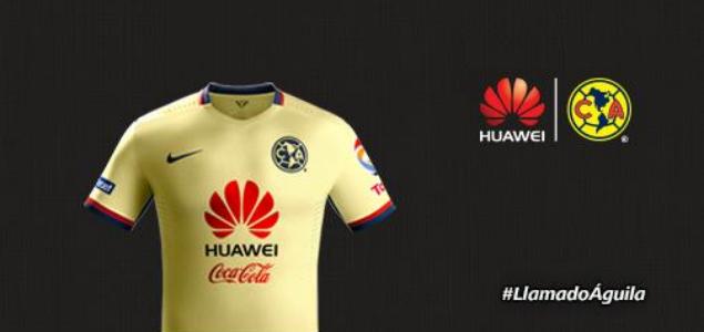 América presenta playera y patrocinio millonario con Huawei ... feae74ddabd6a