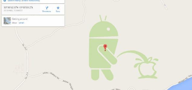 Android se burla de Apple - 250X