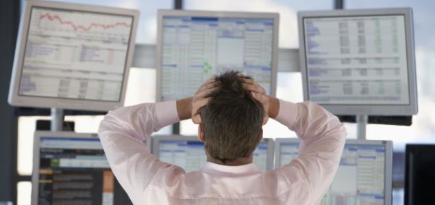 Los inversores huyen de los bancos por las turbulencias