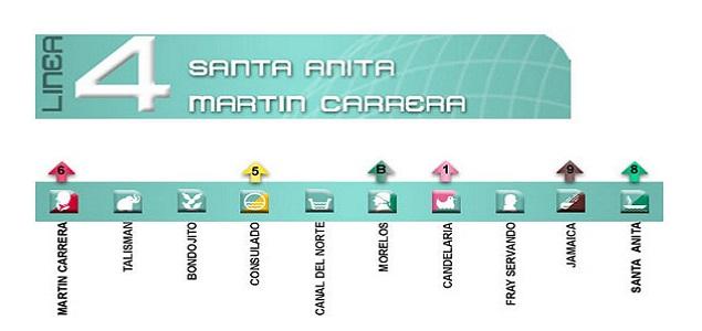 La Linea 4 Del Metro Capitalino Tendra 20 Estaciones Nuevas