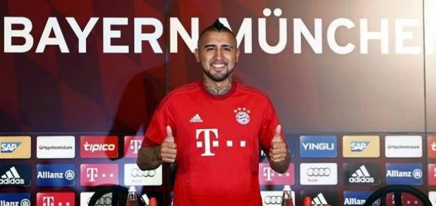 Vidal presentado por el Bayern