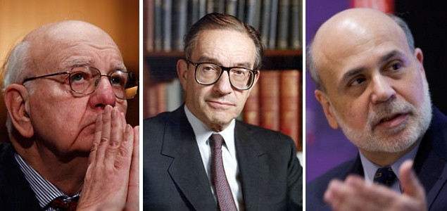 alan essay greenspan paul volcker The alan greenspan timeline although he is not famous as an objectivist (nor is it clear that he still considers himself an objectivist), arguably the most famous person associated with objectivism is alan greenspan.