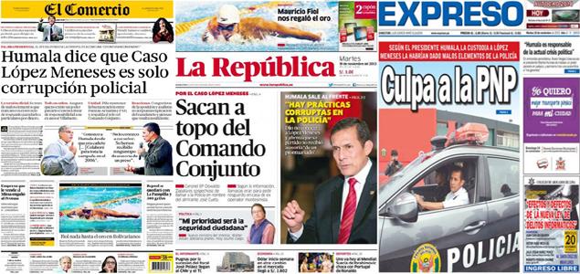 Revista de Prensa del Perú: Ollanta Humala dice no conocer a López Meneses y que solo es un tema ...