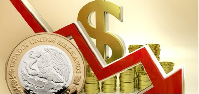 Resultado de imagen para peso mexicano baja