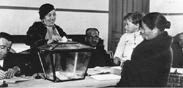 Resultado de imagen de la mujer y el voto uruguay