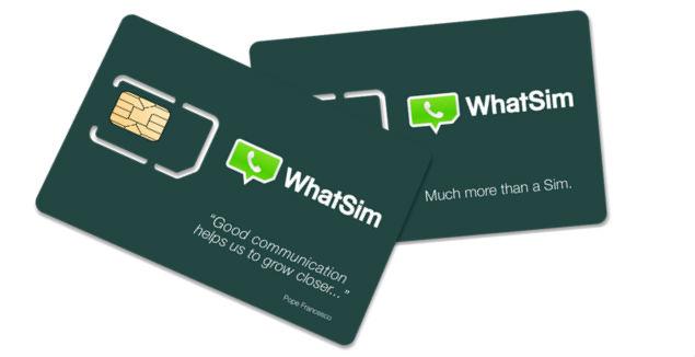 WhatSim, la tarjeta SIM diseñada para usar WhatsApp en todo el mundo sin necesidad de 'roaming'