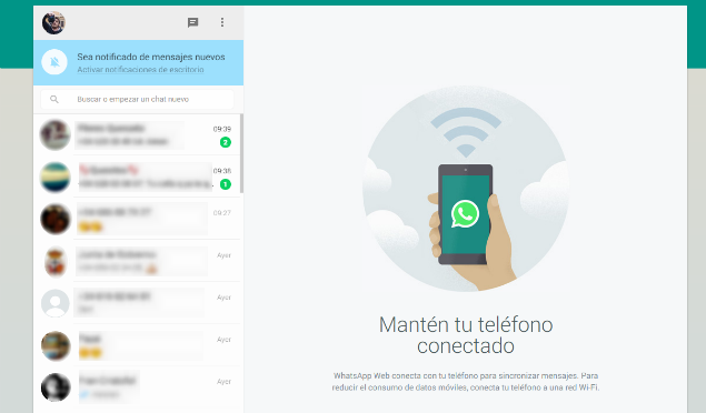 Llega WhatsApp Web: la plataforma online para poder ...