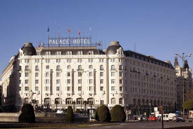 Los hoteles 5 estrellas de madrid se encuentran entre los for Listado hoteles 5 estrellas madrid