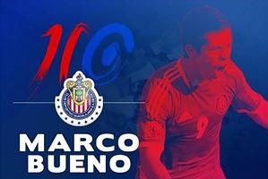Marco Bueno se convierte en jugador de Chivas