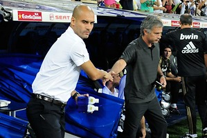 Mourinho y Guardiola trasladadan rivalidad