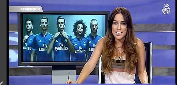 Tve ficha a carlota vizmanos una presentadora de real for Real madrid tv