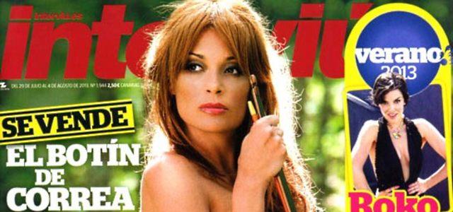 Interviú Desnuda A Lucía Hoyos Una Macarra Sensual Ecoteuvees