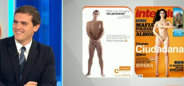 Albert Rivera Sobre El Desnudo De La Concejala De Ciudadanos En