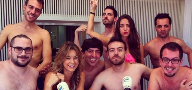 El Equipo De Anda Ya Se Desnuda Para Celebrar El Estreno De Adán