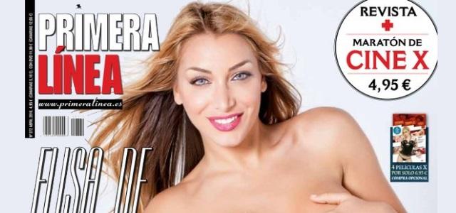 Elisa De Panicis Se Desnuda En La Portada De Primera Línea