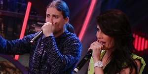 Pilar Rubio sorprende como chica beatbox en Antena 3