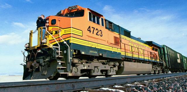Juego de trenes: Gates y Buffett compiten con sus respectivas compañías ferroviarias