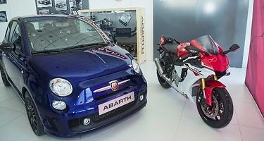 Abarth 595 Yamaha Factory Racing 99: un homenaje al campeón de Moto GP Jorge Lorenzo
