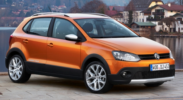 volkswagen cross polo 2015 el polo m s campero ya est a la venta. Black Bedroom Furniture Sets. Home Design Ideas