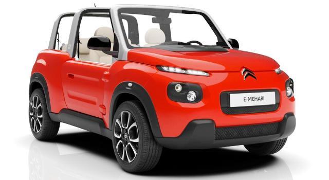 Nuevo Citroën E-Mehari: un coche eléctrico de plástico