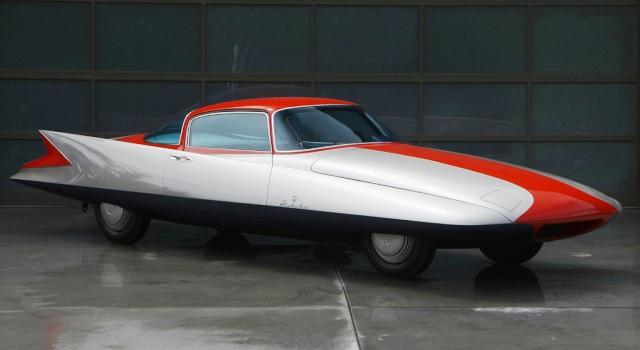 Chrysler ghia gilda streamline x un cohete con dise o for Comodas diseno italiano