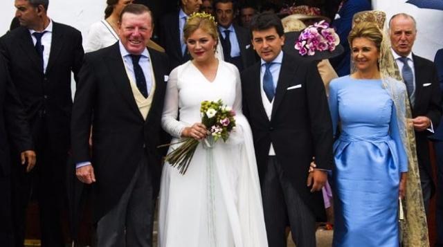 Traje de boda de lourdes montes