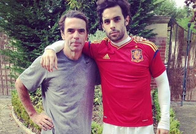 ¿Cuánto mide José María Aznar? Alonso-876