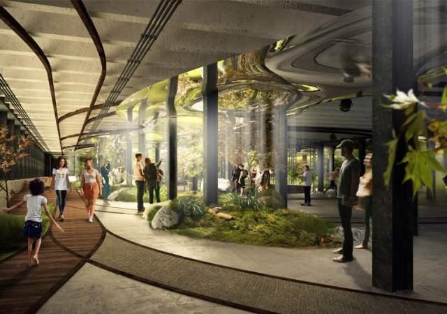 El primer parque subterráneo