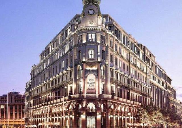 Los hoteles de lujo apuestan por madrid estas son las Hotel lujo sierra madrid