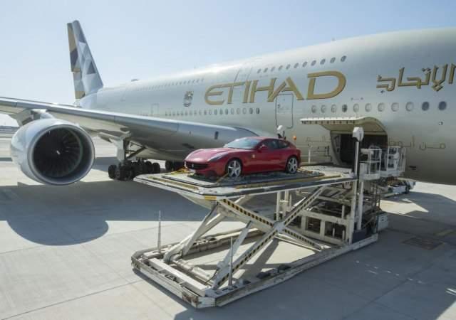 Etihad permite volar con su coche