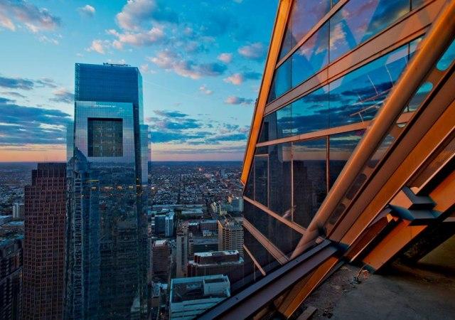 Torre mirador en Filadelfia
