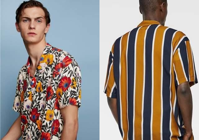 revisa venta usa online selección premium Camisas de flores y rayas: cómo vestir la tendencia del ...