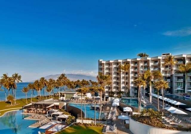 Hotel paradisíaco en Hawái