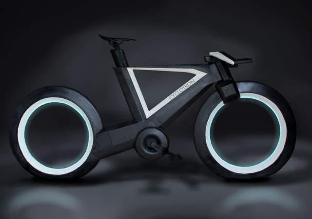 La bicicleta que no tiene radios