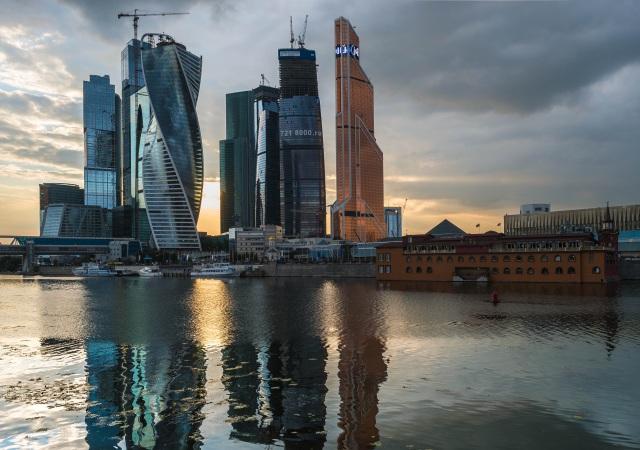 El nuevo skyline de Moscú