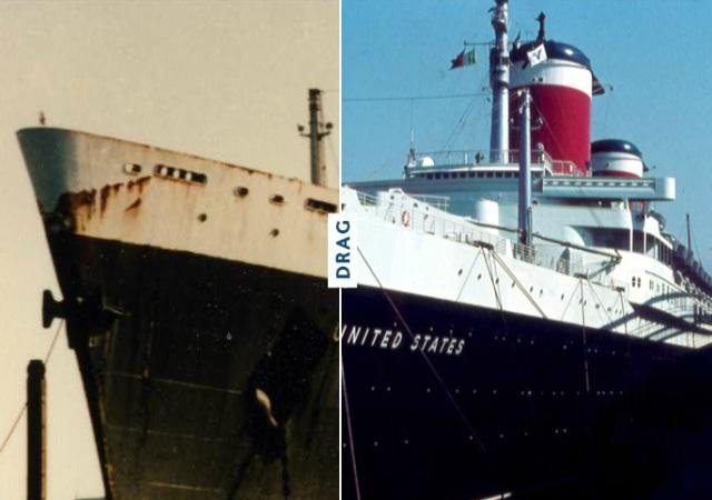 De buque militar a crucero de lujo