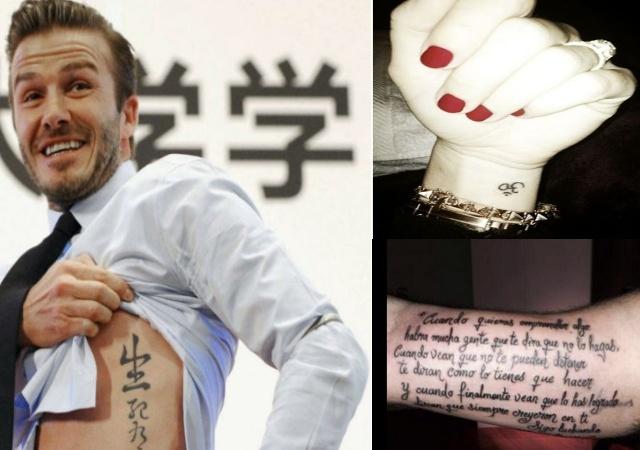 162ea359b Los famosos se apuntan a la moda del tatuaje - elEconomista.es