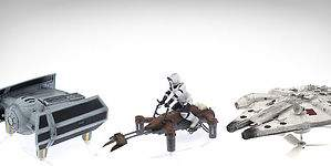 Los drones inspirados en Star Wars que revolucionan la tecnología