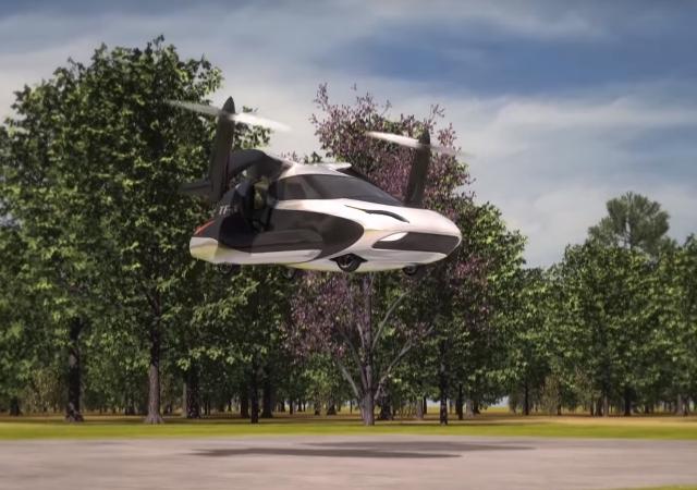 El coche volador estará listo en 2018 y se podrá comprar en 2024